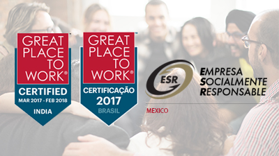 Great Place to Work Certificate